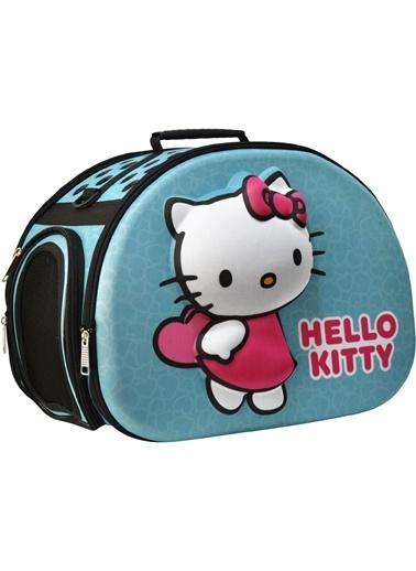 Hello Kitty KEDİ TAŞIMA ÇANTASI 3D EVA HELLO KITTY KABARTMALI Turkuaz